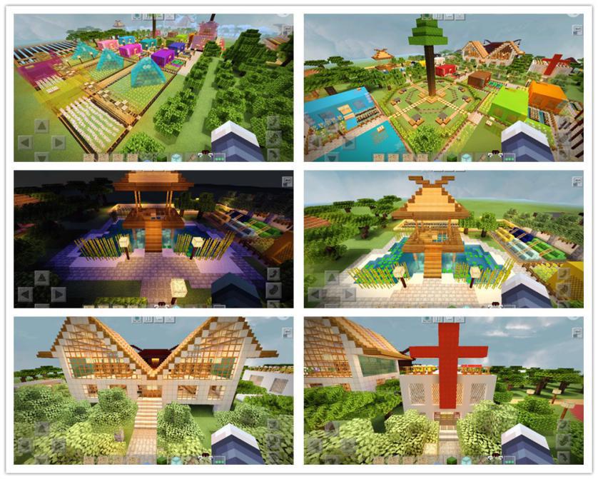 我的世界村庄主题展开启